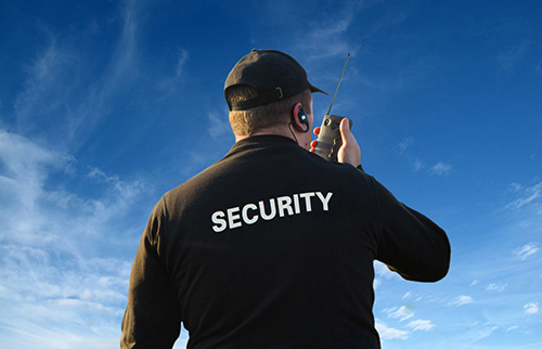 evolution of security | security guard